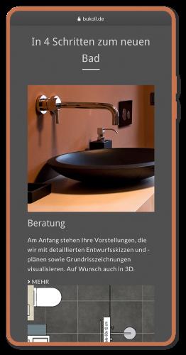 Beratung, Webprojekt, Responsive, Baddesign, Luckypage, München, Agentur für Web, SEO, Digital Marketing, Komunikationsberatung, München