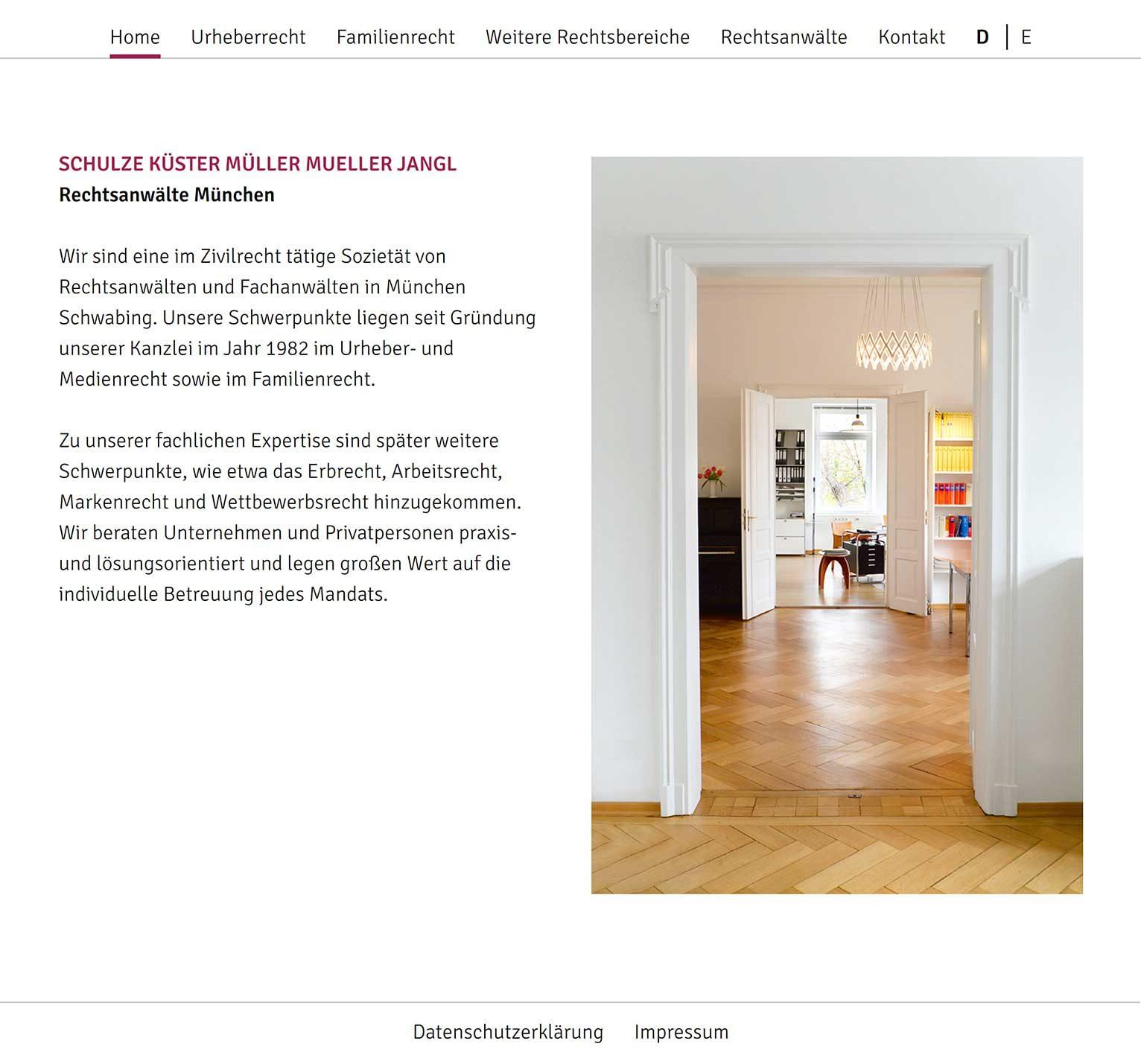 Beratung, Webprojekt, Rechtsanwälte, Luckypage, München, Agentur für Web, SEO, Digital Marketing, Komunikationsberatung, München